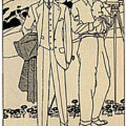 Fashion For Men Circa 1915 Art Print