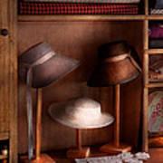 Fashion - Hats On Sale Art Print