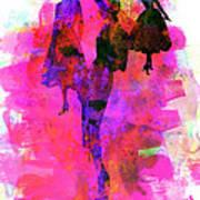 Fashion Models 1 Art Print