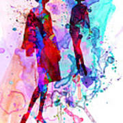Fashion Models 8 Art Print