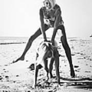 Fashion: Womens Swimsuits Art Print