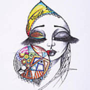 Fashionista Art Print