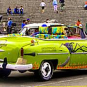 Fast And Furious In Cuba Art Print