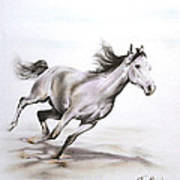 Fast In The Spirit Art Print by Tamer and Cindy Elsharouni