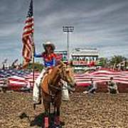 Fastest Rodeo On Earth Art Print