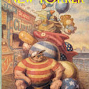 New Yorker September 6th, 1993 Art Print