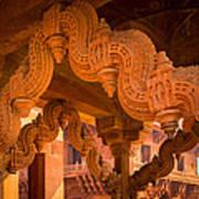 Fatehpur Sikri Detail Art Print