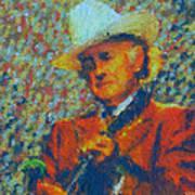 Father Of Blue Grass Art Print