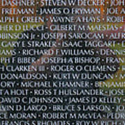 Fathers Sons And Brothers Of The Wall Art Print