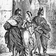 Faust: Mephistopheles 1828 Art Print
