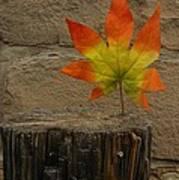 Faux Leaf Art Print