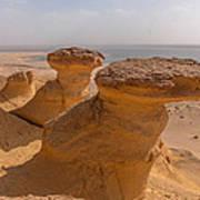 Fayum Desert Scene Art Print