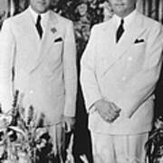 Fbi Director J. Edgar Hoovers 20th Art Print