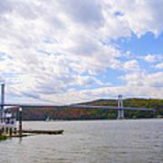Fdr Mid Hudson Bridge - Poughkeepsie Ny Art Print