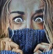 Eyes Art Print by Leida  Nogueira