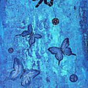 Fearless Butterflies 2011 Art Print