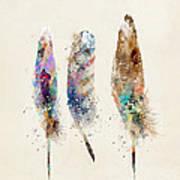 Feathers Print by Bri B