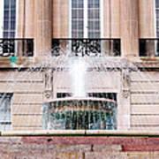 Federal Building Fountain Art Print