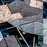 Federation Square Melbourne  Art Print