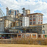 Feed Mill Hdr Art Print