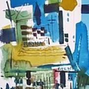 Feed Mill Art Print