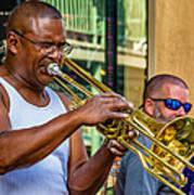 Feel It - New Orleans Jazz  Art Print
