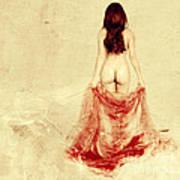 Female Nude Art Print by Jelena Jovanovic