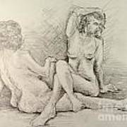 Female Nudes Art Print