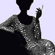 Femme Fatale C1960 Shaken Not Stirred Art Print