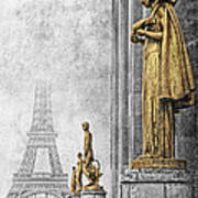 femmes de Paris Art Print