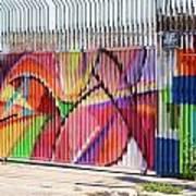 Fenced Art Print