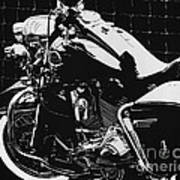 Fenced In At Indy Flhr Art Print