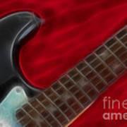 Fender-9657-fractal Art Print