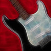 Fender-9668-fractal Art Print