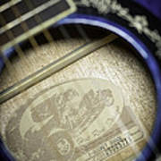 Fender Hot Rod Design Guitar 2 Art Print