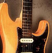 Fender Stratocaster Electric Guitar Art Print