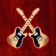 Fender Telecaster Custom Art Print