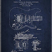 Fender Tremolo Device Patent Drawing From 1956 Art Print by Aged Pixel