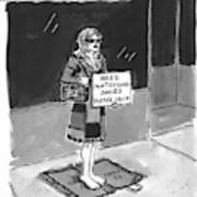 'fendi Bag Lady' Art Print