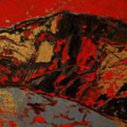 Feng Shui - Gold Mountain Art Print