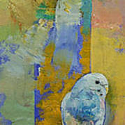 Feng Shui Parakeets Art Print by Michael Creese