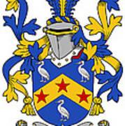 Fennell Coat Of Arms Irish Art Print
