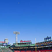 Fenway Park- Home Of The Boston Red Sox Art Print by Diane Diederich