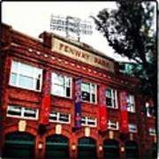 Fenway Park In October 2013 Art Print