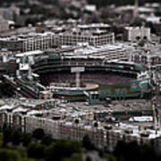 Fenway Park Art Print by Tim Perry