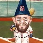 Fenway's Garden Gnome Art Print