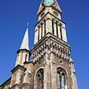 Ferencvaros Church Tower In Budapest Art Print