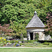 Fernwood Botanical Garden Stone Herb House Usa Art Print
