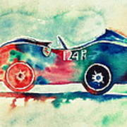 Ferrari 124 Pm Art Print by Shruti Prasad