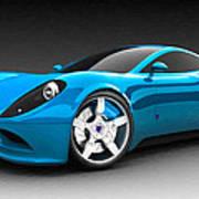 Ferrari 16 Art Print